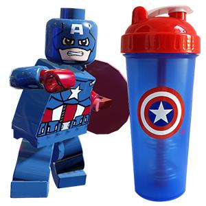Captain America shaker