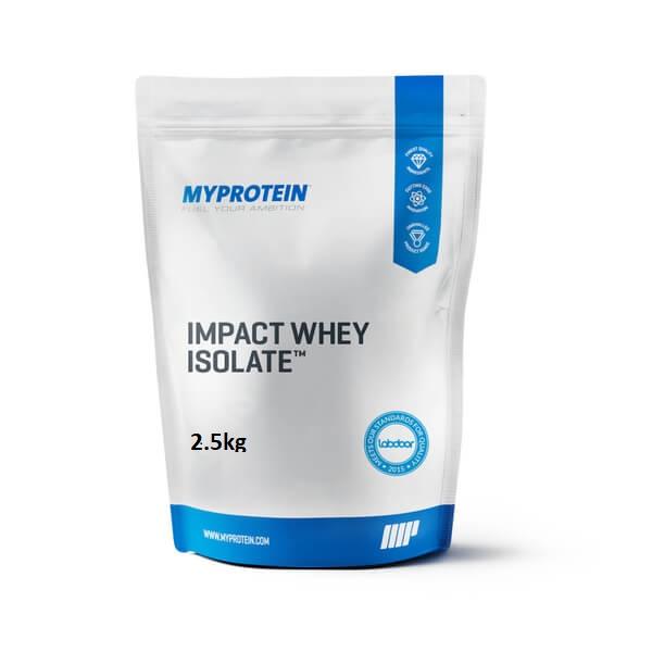 Impact whey isolate 2.5kg
