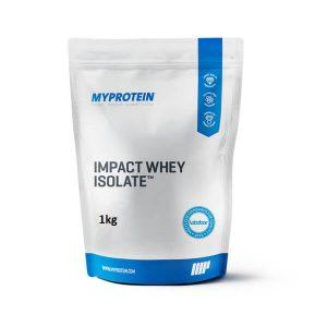 Impact whey isolate 1kg .