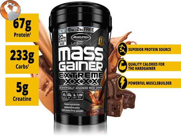 Mass Gainer nào tốt nhất - 6 loại thực phẩm bổ sung hàng đầu được đánh giá cao