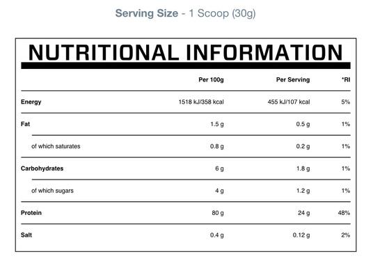 Myprotein Casein 2.5kg 1