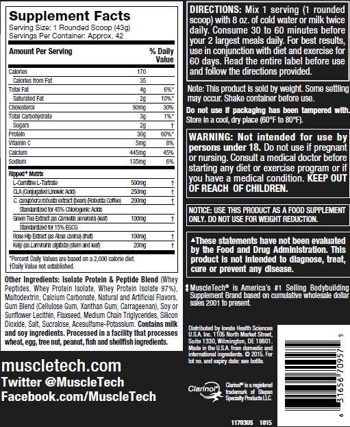 Nitrotech Ripped 4lbs (1.8kg) 3