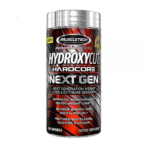 Hydroxycut Hardcore Next Gen hỗ trợ tăng cường trao đổi chất, giảm mỡ tự nhiên. Hydroxycut Hardcore Next Gen chính hãng, cam kết chất lượng, giá rẻ nhất tại Hà Nội & Tp.HCM.