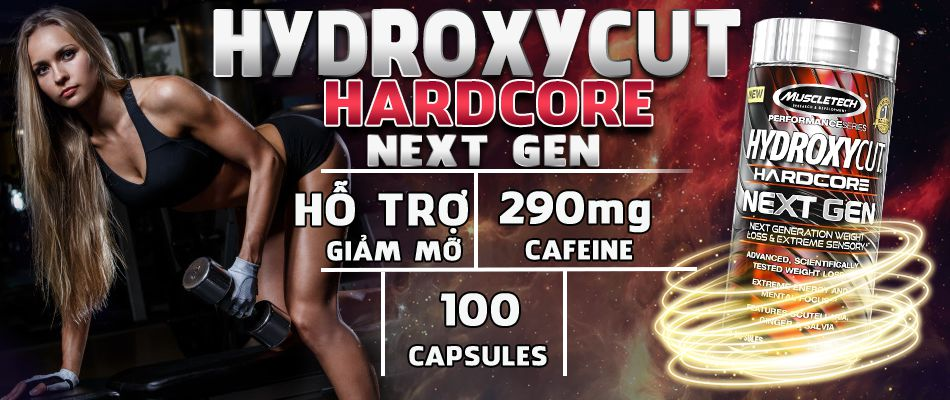 Hydroxycut Next Gen 180 vien ho tro giam can hieu qua gia re chinh hang