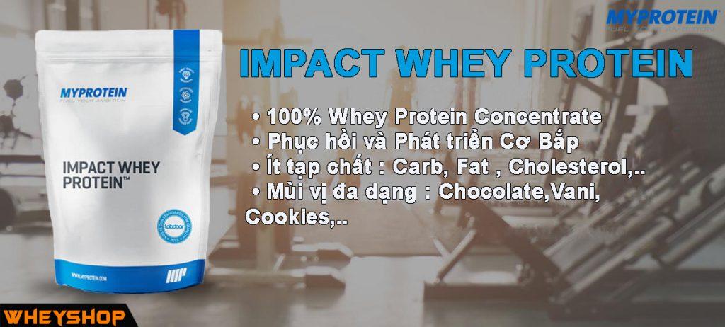 impact whey protein là gì