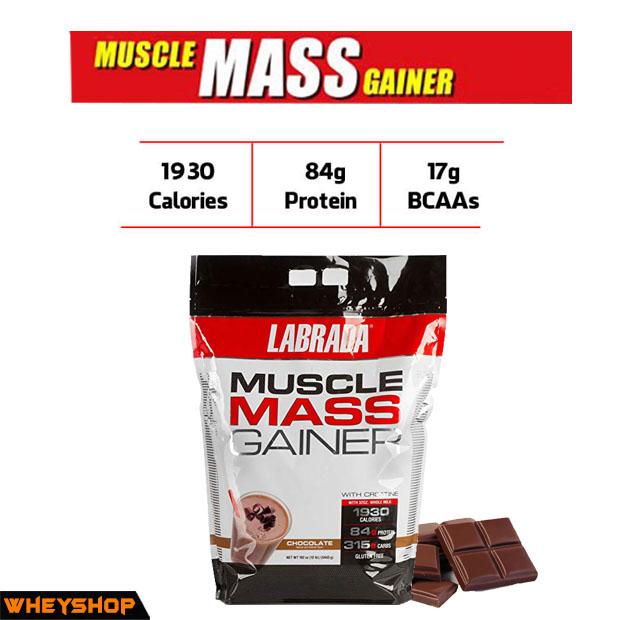 Labrada muscle mass gainer tăng cân có tốt chính hãng giá rẻ mua ở hà nội