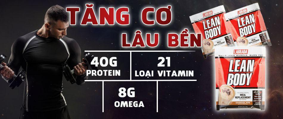Leanbody thay the bua an phu thong minh WHEYSHOP VN