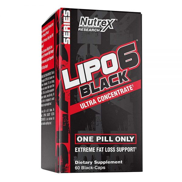 Lipo 6 Black Ultra Concentrate tăng cường khả năng trao đổi chất cơ thể, giảm mỡ và giảm cân nhanh hơn, tăng sự tỉnh táo tập trung và giảm khả năng thèm ăn.Lipo 6 Black Ultra Concentratechính hãng, cam kết chất lượng, giá rẻ nhất tại Hà Nội & Tp.HCM.