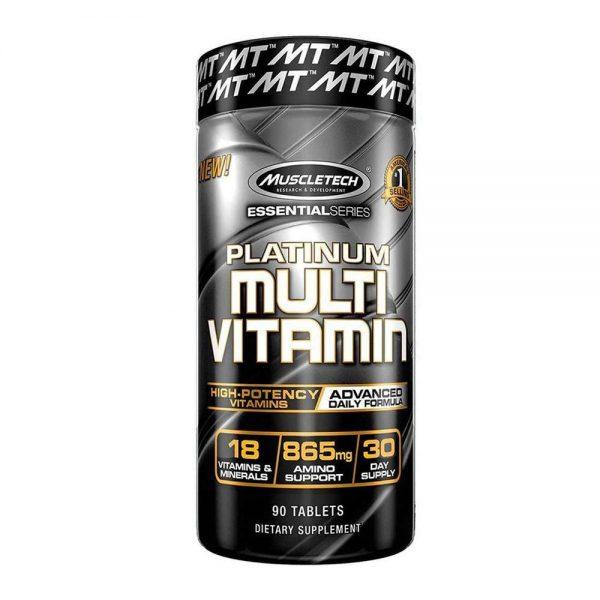 Platinum MultiVitamin 90 viên bổ sung Vitamin tổng hợp tăng cường trao đổi chất, hấp thu, sức khỏe tổng thể. Platinum MultiVitamin chính hãng, giá rẻ tại HN HCM