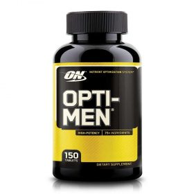 Opti-Men là một sản phẩm bổ sung Vitamin tổng hợp dùng tối ưu hóa dinh dưỡng hoàn chỉnh cho cơ thể, nó cung cấp hơn 70 hoạt chất trong 4 hỗn hợp được thiết kế đặc biệt để hỗ trợ nhu cầu dinh dưỡng của nam giới. Opti-Men nhập khẩu chính hãng, cam kết chất lượng, giá rẻ nhất tại Hà Nội & Tp.HCM.