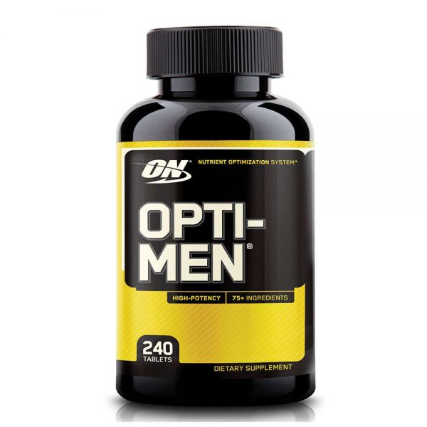 Opti Men 240 viên bổ sung vitamin tổng hợp cho Nam giới hỗ trợ một cuộc sống khỏe mạnh, tăng cường sức khỏe tổng thể. Opti Men 240 viên nhập khẩu chính hãng, cam kết chất lượng, giá rẻ nhất tại Hà Nội & Tp.HCM.