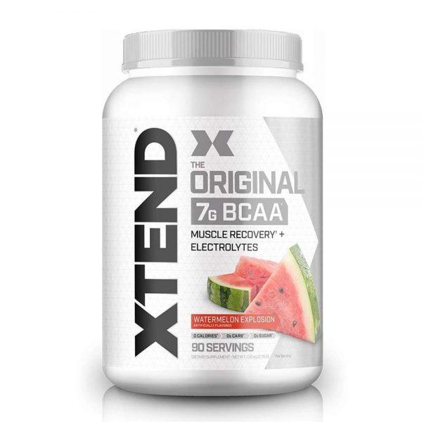 Xtend bcaa 90 servings hỗ trợ phục hồi và phát triển cơ hiệu quả nhất hiện nay . Xtend bcaa là sản phẩm được đánh giá cao về cả chất lượng lần mùi vị ngon