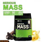 Serious Mass 12lbs (5.4kg) và cách dùng sữa Serious Mass hiệu quả wheyshop