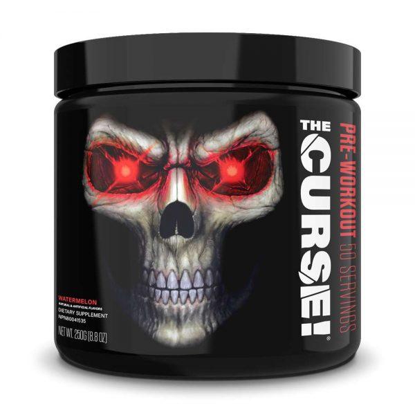 The Curse tăng sức mạnh tiêu chuẩn Mỹ, 50 lần sử dụng tiết kiệm hơn : • 3g hỗ hợp Beta-Alanine, Creatine Monohydrate, Citric Acid : tăng sức mạnh sức bền • 155mg Caffeine : tăng tỉnh táo, tập trung • 900mg hỗn hợp Citrulline,L-Arginine AKG : hỗ trợ bơm máu, pump cơ The Curse được nhập khẩu chính hãng từ Mỹ. Cam kết giá tốt nhất, chất lượng tốt nhất tại Hà Nội & Tp.HCM
