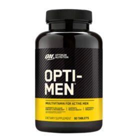 Opti men 90 viên bổ sung 70 nguồn Vitamin,khoáng chất cần thiết cho người tập gym thể hình, duy trì sức khỏe, phát triển cơ bắp, cải thiện đề kháng cho nam giới