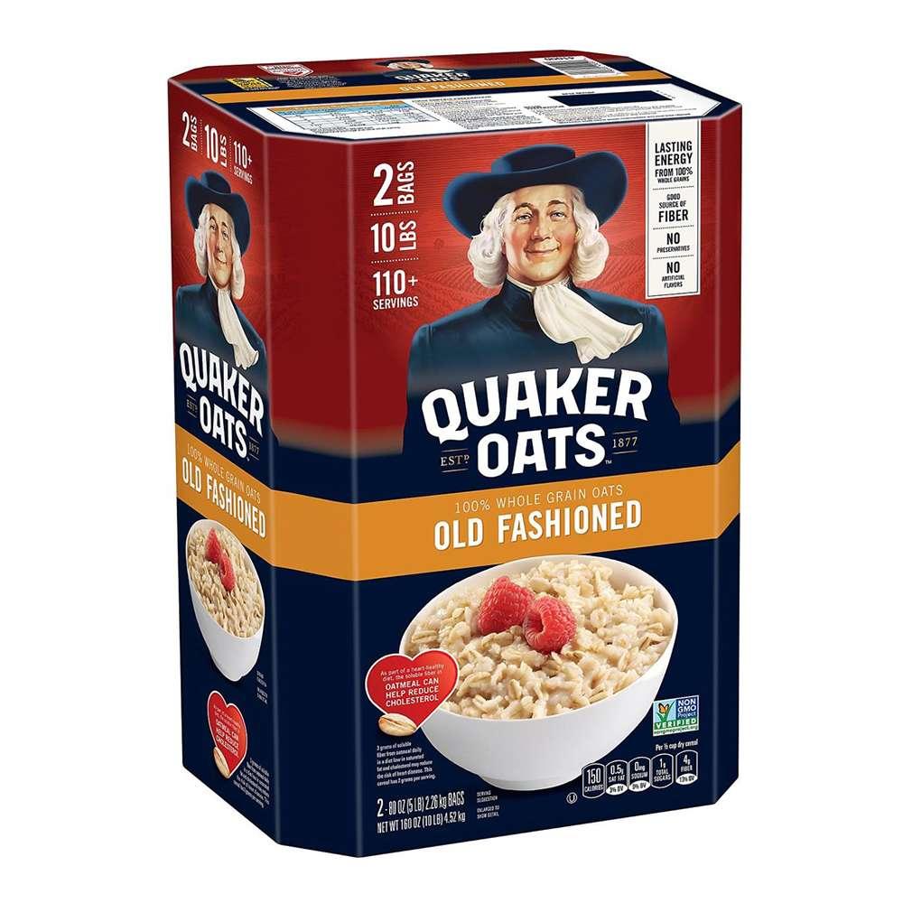 Yến mạch Quaker Oats hỗ trợ giảm cân, cải thiện sức khỏe tim mạch, hệ tiêu hóa. Yến mạch Quaker giá rẻ nhất tại Hà Nội, TpHCM, nhập khẩu chính hãng.