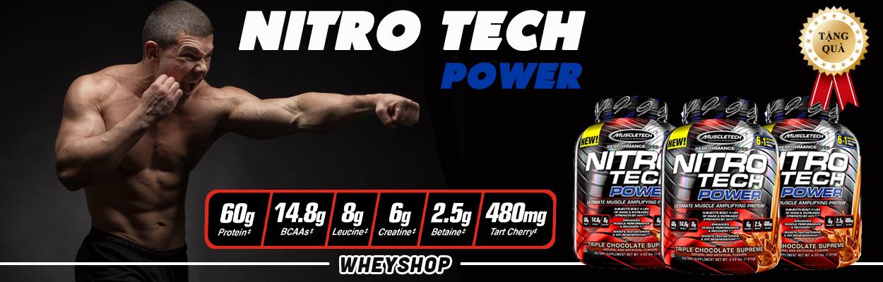 banner nitro tech powerr