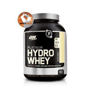 Platinum Hydro whey 3.5lbs