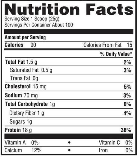 Impact Whey Protein 5.5lbs (2.5kg) 4