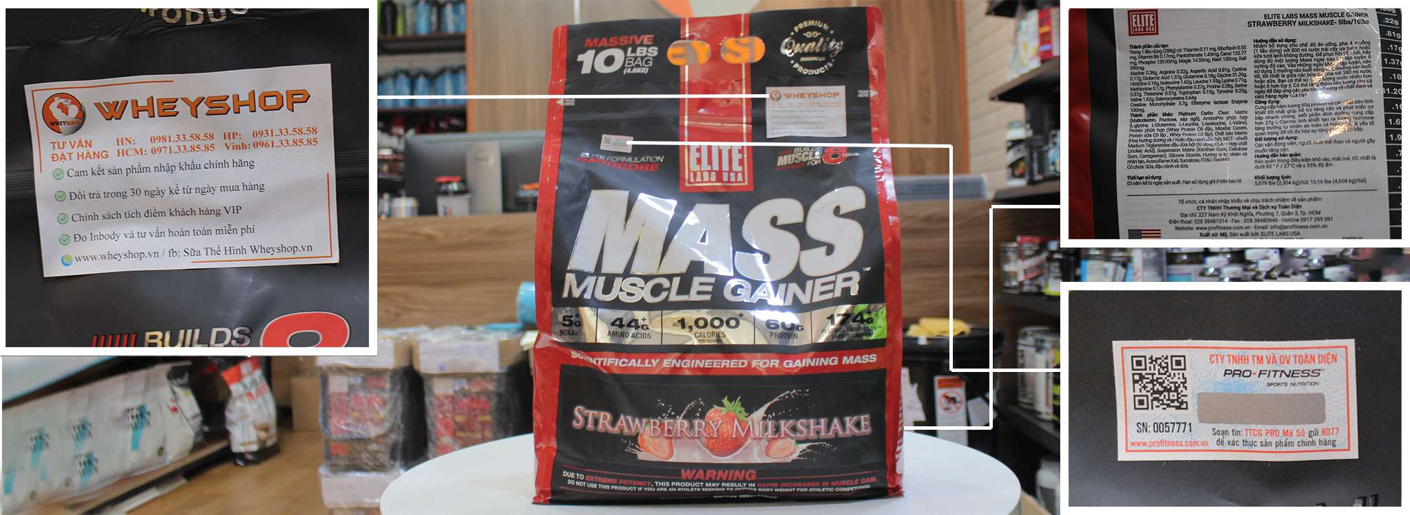 mass muscle gainer 10lbs gia re ha noi tphcm