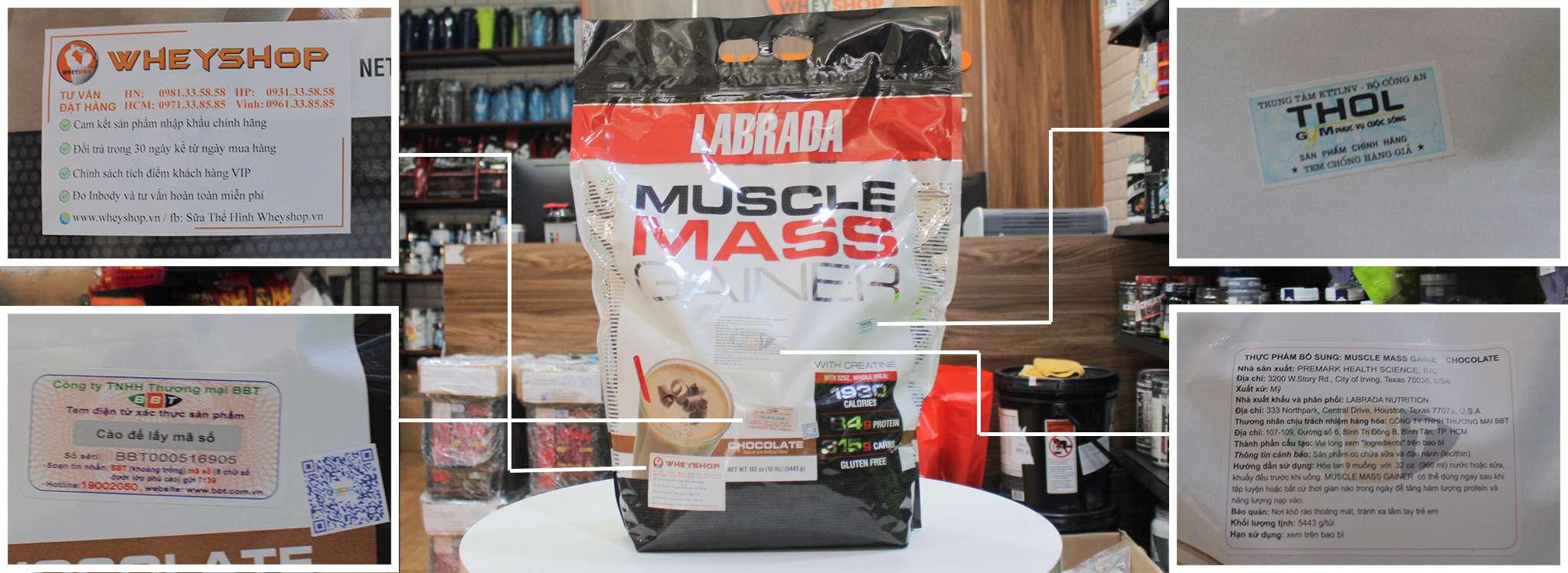 muscle mass 5,4 kg gia re ha noi tphcm