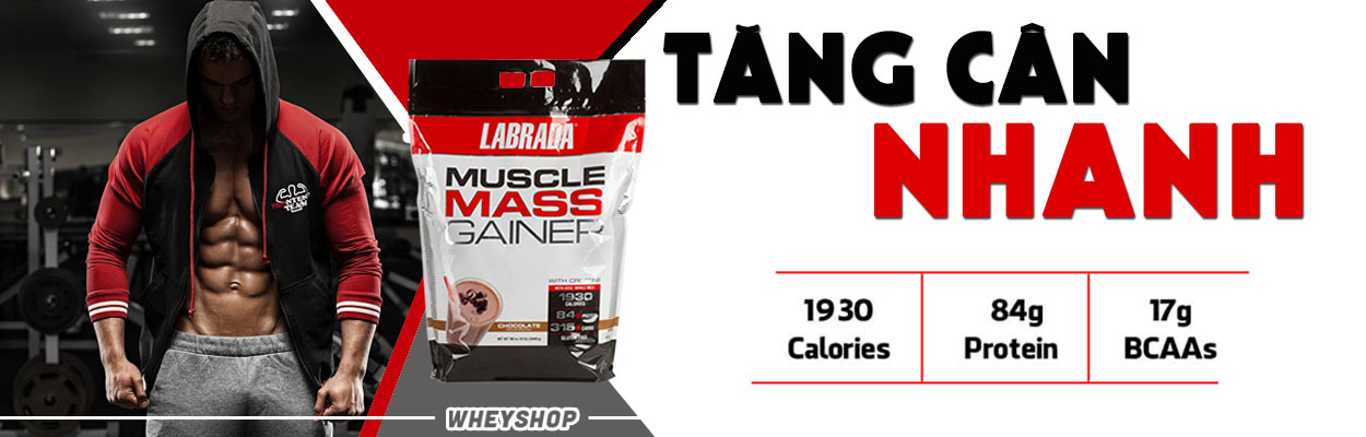 Muscle Mass Gainer 12lbs (5.4kg) 3