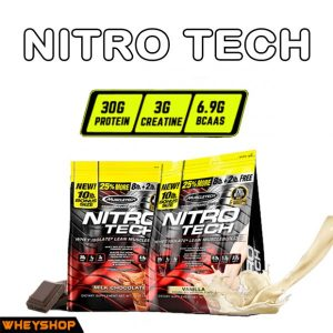 muscletech nitrotech 10lbs