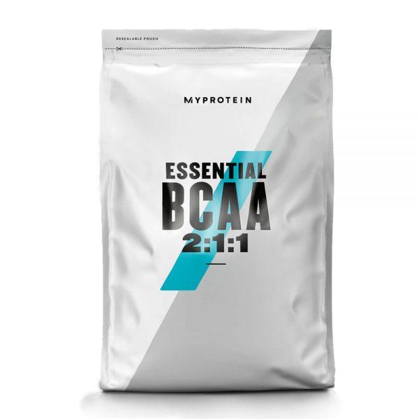 ác dụng tuyệt vời của MyProtein BCAA? Với 5g BCAAs theo tỷ lệ 2:1:1 mỗi lần dùng, MyProtein BCAA mang tới chuẩn mực của sản phẩm BCAA phục hồi cơ bắp