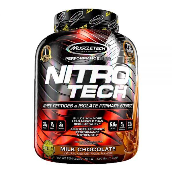 Nitro-Tech® cung cấp hàm lượng protein thiết yếu tinh chiết từ whey protein isolate kết hợp với thành phần creation chất lượng nhất nhằm đảm bảo sự phát triển cơ bắp tối ưu