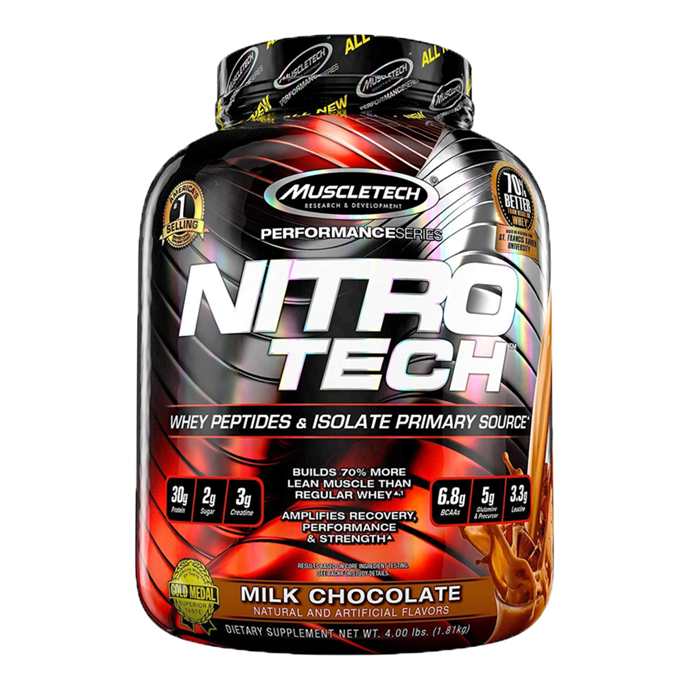 NitroTech increases muscle mass and boost metabolism