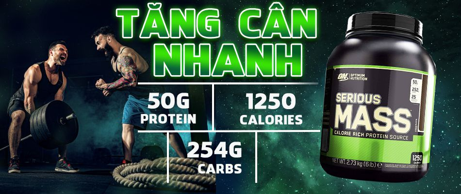 serious mass 6lbs tang can gia re chinh hang wheyshop