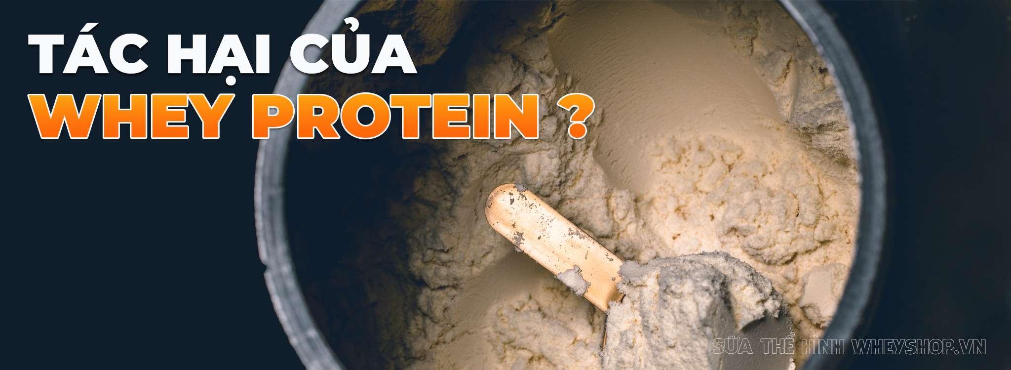 tac hai cua whey protein ban nen biet