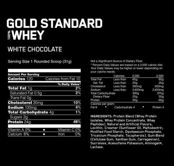 thành phần whey gold