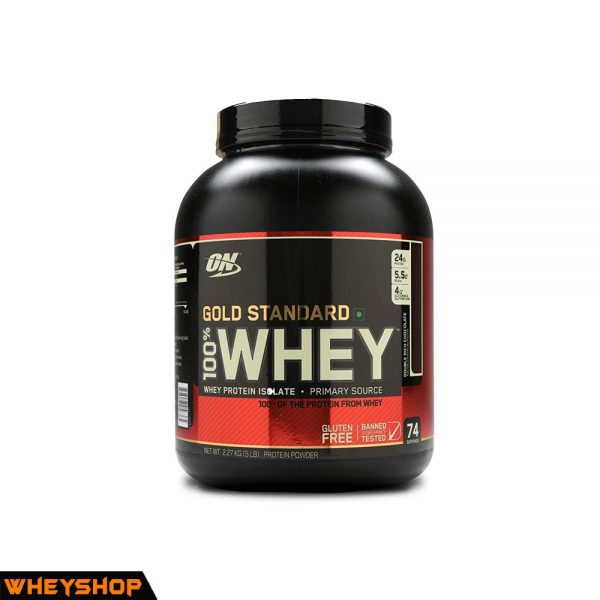 100% Whey Gold Standard 5lbs (2.3kg) 1