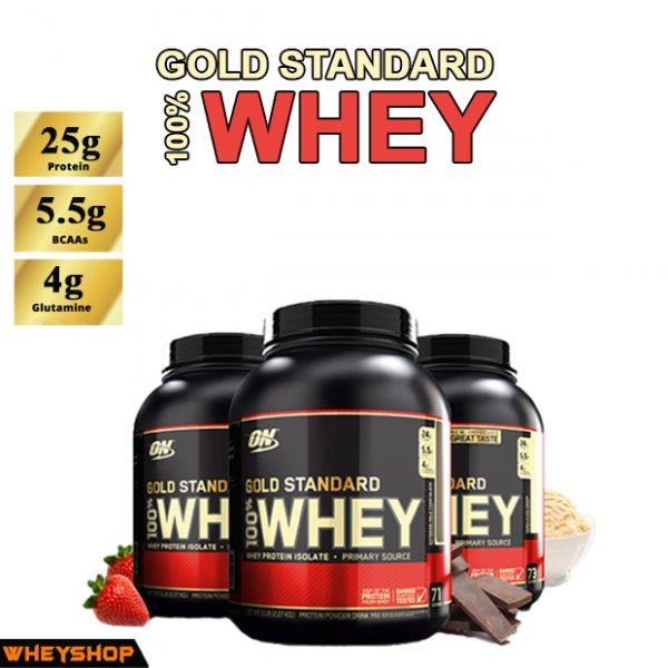whey gold standard optimum sữa tăng cơ 5lbs wheyshop