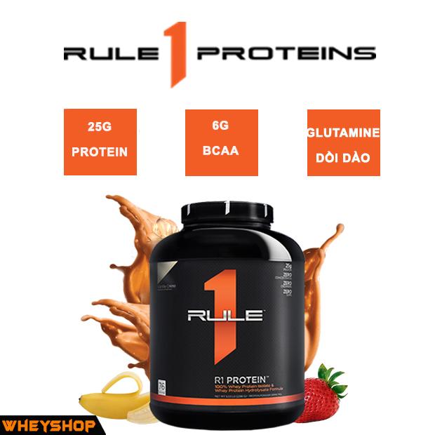 Rule 1 Protein được nhập khẩu và phân phối chính hãng Wheyshop