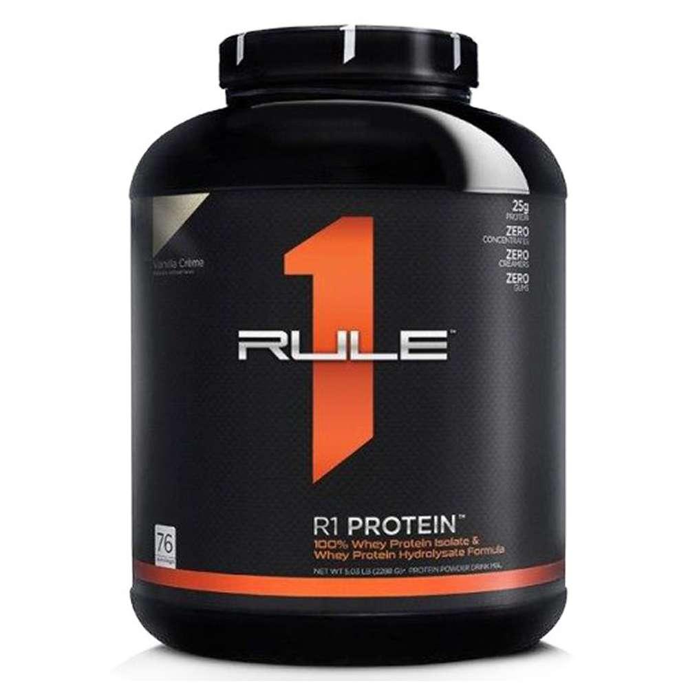 Whey Rule 1 Protein là sản phẩm phát triển cơ bắp cung cấp 100% Whey Isolate và Hydrolyzed hấp thu nhanh.Whey Rule 1 protein nhập khẩu chính hãng, cam kết chất lượng, giá rẻ nhất tại Hà Nội, TpHCM