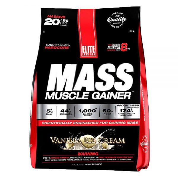 Vua tăng cân Mass Muscle Gainer Elite Labs là Sữa tăng cân tăng cơ cao cấp hàng đầu hiện nay. Mass Muscle Gainer nhập khẩu chính hãng, uy tín và giá rẻ Hà Nội TpHCM