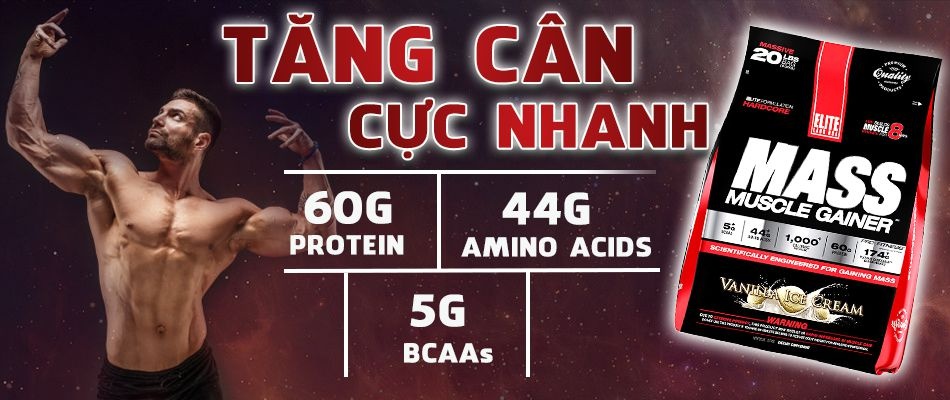 Mass muscle 20lbs gia re chinh hang tang can tang co WHEYSHOPVN VN