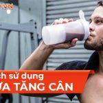 Tìm hiểu về sữa tăng cơ và 10 cách sử dụng sữa tăng cơ hiệu quả nhất dành cho người tập gym qua bài viết này cùng WheyShop ngay nhé ...