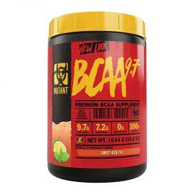 Mutant BCAA là sản phẩm bổ sung 7.2g BCAA chống dị hóa cơ bắp cùng 2.7g Amino acid quan trọng khác hỗ trợ phục hồi cơ bắp. Mutant BCAA nhập khẩu chính hãng, cam kết chất lượng, giá rẻ nhất tại Hà Nội & Tp.HCM