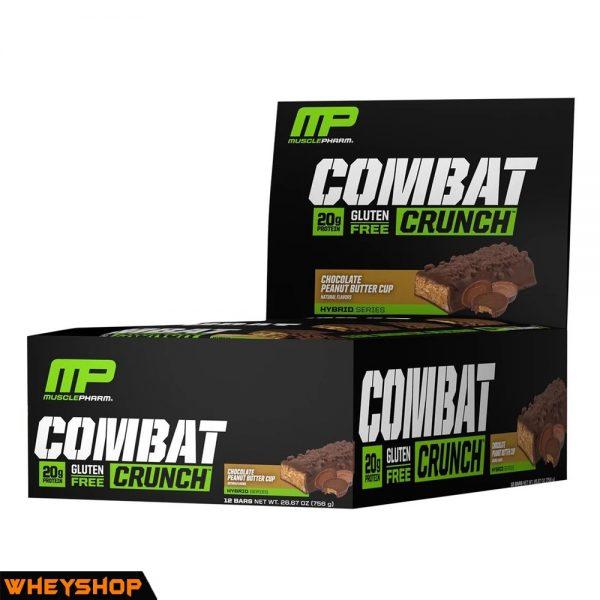 Musclepharm combat crunch bar là sản phẩm bánh protein chính hãng giá tốt 2017
