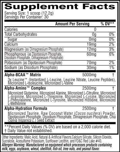 Alpha Amino Performance BCAA