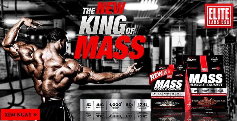 Vua tăng cân Mass Muscle Gainer