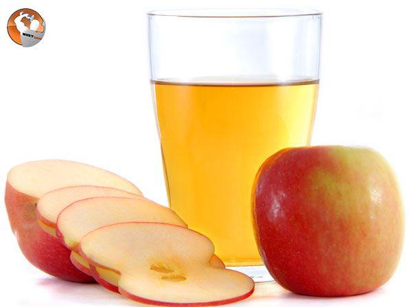 cách làm nước uống giảm cân bằng táo