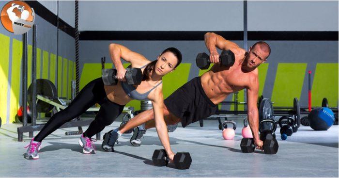 những bài tập gym dành cho nữ