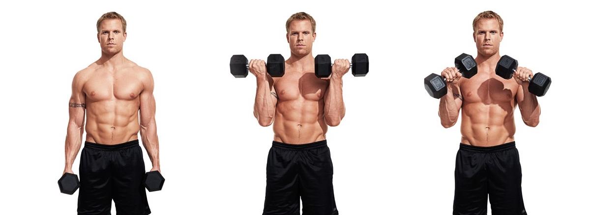 10 bai tap bap tay hieu qua nhat cua bodybuilding Zottman Curl