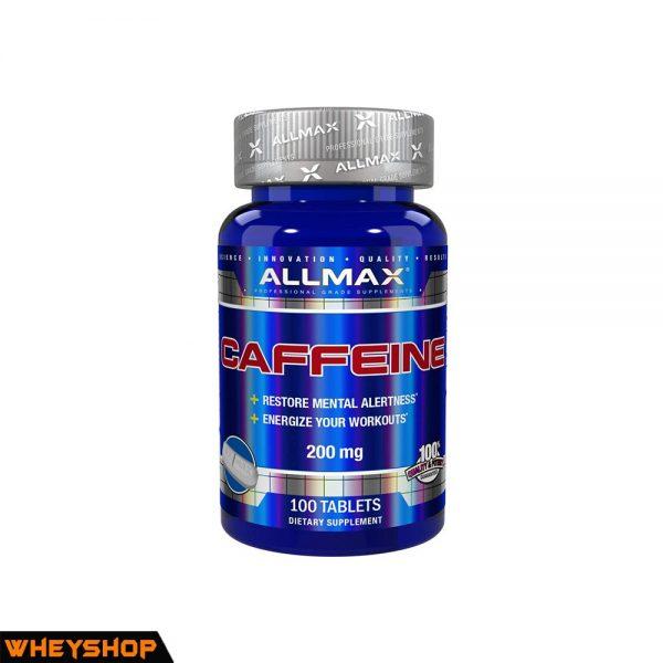 ALLMAX caffeine 120 vien gia re chinh hang WHEYSHOP VN