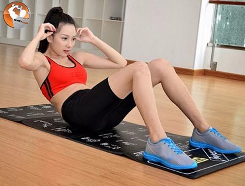 Nên duy trì cường độ tập gym tại nhà