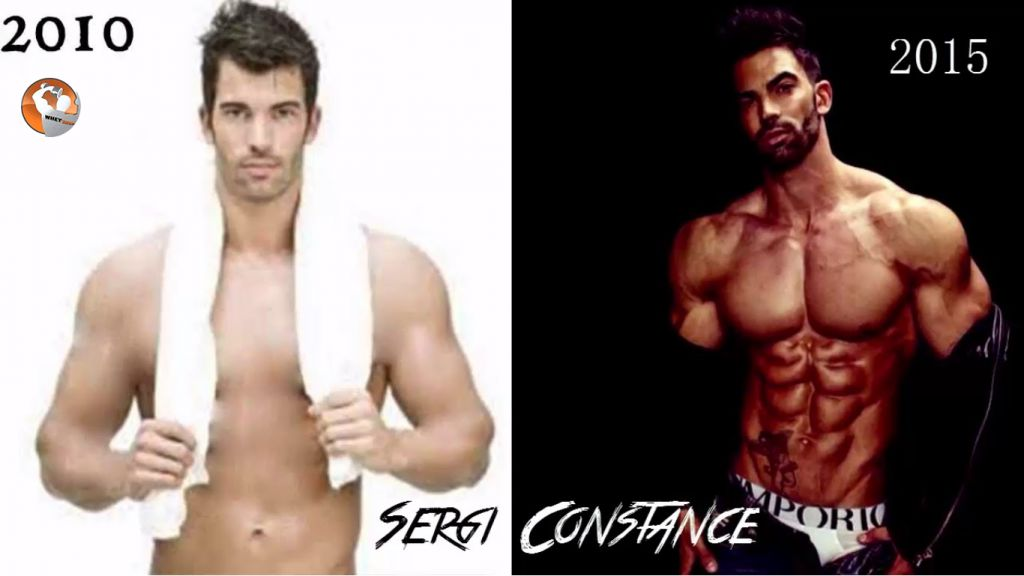 fitness model Sergi Constance 6